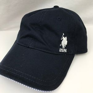 U.S. Polo Assn. Ladies Navy Blue Hat